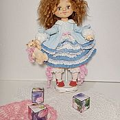 Куклы и пупсы ручной работы. Ярмарка Мастеров - ручная работа Текстильная кукла Амели. Handmade.