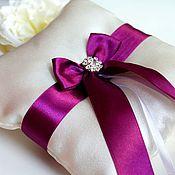 Подушечки ручной работы. Ярмарка Мастеров - ручная работа Подушечка, свадебная подушечка, подушечка для колец, свадебная подушка. Handmade.