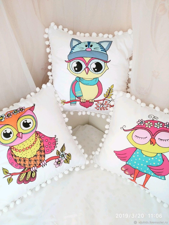 Decorative pillows, dumki. For children and adults, Pillow, Orekhovo-Zuyevo,  Фото №1