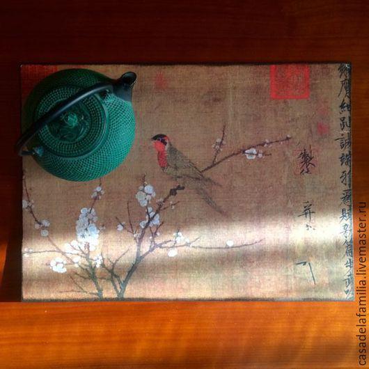 """Кухня ручной работы. Ярмарка Мастеров - ручная работа. Купить Подставка под тарелку """"Старая гравюра"""". Handmade."""