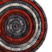 Украшения ручной работы. Ярмарка Мастеров - ручная работа Украшение на шею Lasso Fire вязаный шарф бусы колье. Handmade.