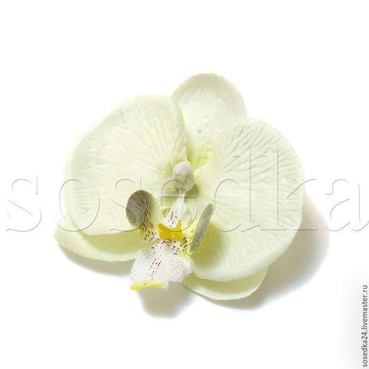 Свадебные цветы ручной работы. Ярмарка Мастеров - ручная работа. Купить Головка орхидеи очень натуральная DF112-160/161. Handmade.
