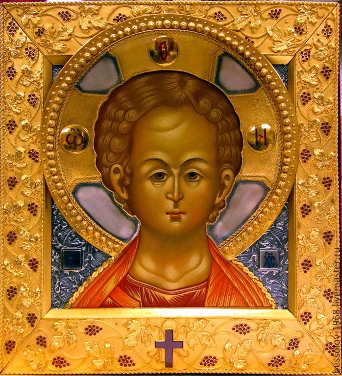 Икона «Спас Эммануил», Иконы, Рыбинск,  Фото №1