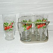 Винтаж handmade. Livemaster - original item Set for drinks the USSR. Handmade.