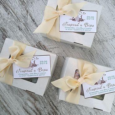 Свадебный салон ручной работы. Ярмарка Мастеров - ручная работа Бонбоньерки: коробочки с воздушным безе. Handmade.