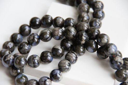 Для украшений ручной работы. Ярмарка Мастеров - ручная работа. Купить Риолит синий ОСКОЛКИ НЕБА бусины 10 мм. Handmade.