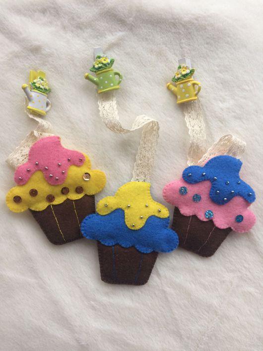 Развивающие игрушки ручной работы. Ярмарка Мастеров - ручная работа. Купить Очаровательные сладкие закладочки для  любителей волшебных книжек. Handmade.