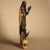 Для дома и интерьера ручной работы. Ярмарка Мастеров - ручная работа Статуэтка Священники большой и малый Африка - эбеновое дерево. Handmade.