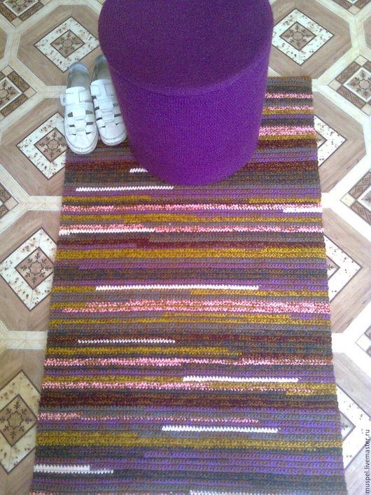 Текстиль, ковры ручной работы. Ярмарка Мастеров - ручная работа. Купить Коврик пестрый2. Handmade. Комбинированный, для дачи