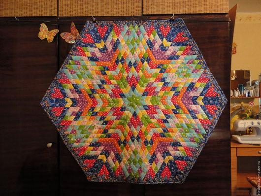 Текстиль, ковры ручной работы. Ярмарка Мастеров - ручная работа. Купить коврик-мандала для медитаций. Handmade. Разноцветный, подарок, магия