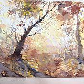 """Картины и панно ручной работы. Ярмарка Мастеров - ручная работа Картина """"Таинственный лес"""". Handmade."""