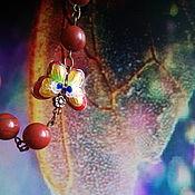Украшения ручной работы. Ярмарка Мастеров - ручная работа Ожерелье Танец мотылька. Handmade.