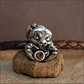 Материалы для творчества handmade. Livemaster - original item The March hare charm. Handmade.
