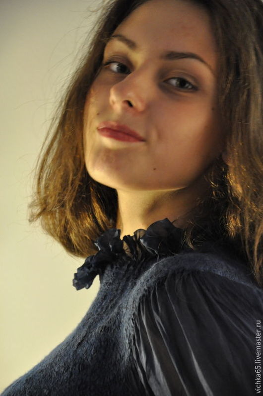 Блузка индиго
