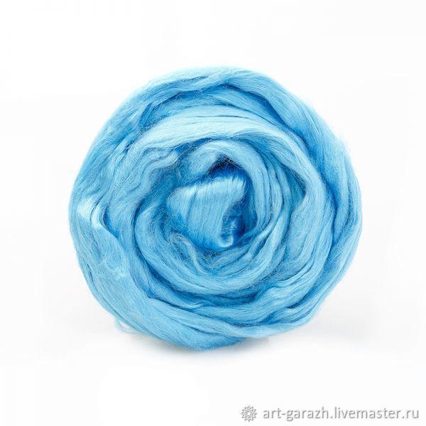Волокна вискоза (Троицк) - ветло-голубой 0300, Волокна, Москва,  Фото №1