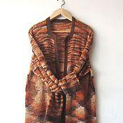 Одежда ручной работы. Ярмарка Мастеров - ручная работа Кардиган вязаный из мохера. Handmade.