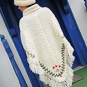 Одежда ручной работы. Ярмарка Мастеров - ручная работа Пончо 12wj04. Handmade.