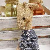 Куклы и игрушки handmade. Livemaster - original item Teddy the giraffe, 18cm. Handmade.