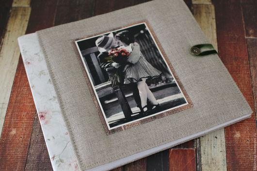 """Фотоальбомы ручной работы. Ярмарка Мастеров - ручная работа. Купить Альбом Love-Story """"Ты и я"""". Handmade. Комбинированный"""