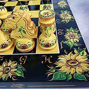 Активный отдых и развлечения handmade. Livemaster - original item Chess is big