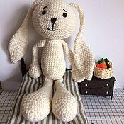 Куклы и игрушки ручной работы. Ярмарка Мастеров - ручная работа Зайка Ушастик. Handmade.