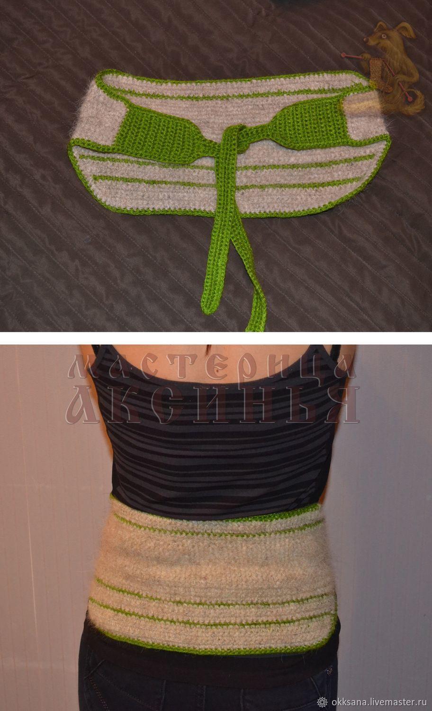 Схемы для вязания пояса из собачьей шерсти, Схемы для вязания, Ломоносов,  Фото №1
