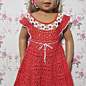 """Работы для детей, ручной работы. Ярмарка Мастеров - ручная работа Платье для девочки """" Цветочек"""" и повязка на голову. Handmade."""