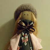 Куклы и игрушки ручной работы. Ярмарка Мастеров - ручная работа Милая куколка Лиза. Handmade.