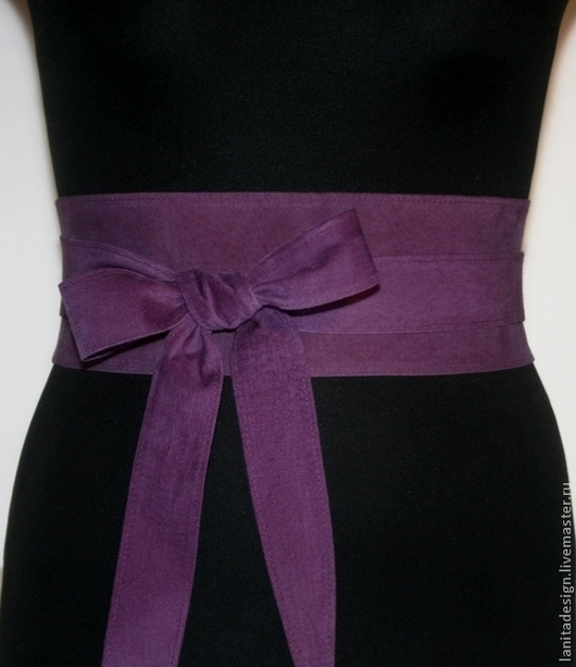 """Пояса, ремни ручной работы. Пояс-кушак """"Violet Romantic"""". Lanita Design. Ярмарка Мастеров."""