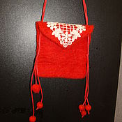 Сумки и аксессуары ручной работы. Ярмарка Мастеров - ручная работа сумочка кошелек для девочки. Handmade.