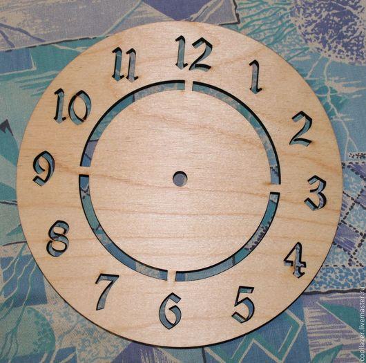 Часы для дома ручной работы. Ярмарка Мастеров - ручная работа. Купить Заготовка для декупажа часы. Handmade. Декупаж, часы декупаж