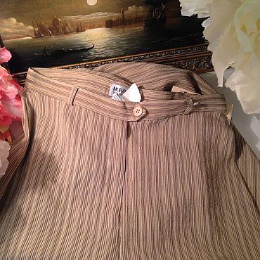 Одежда ручной работы. Ярмарка Мастеров - ручная работа Брюки в полоску Muray&Co. Handmade.