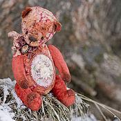 Куклы и игрушки ручной работы. Ярмарка Мастеров - ручная работа Очарованный закатом мишка тедди. Handmade.