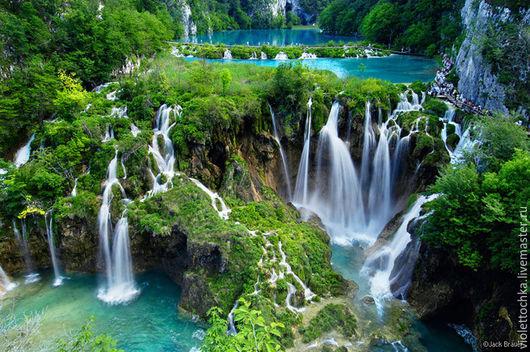 Набор для алмазной живописи `Водопад. Хорватия` арт.85.20