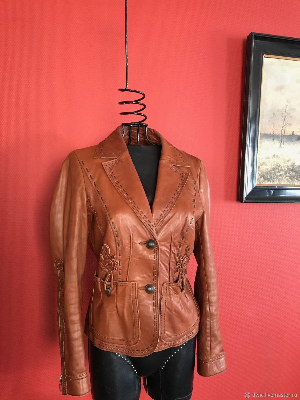 77b26a3b8 Leather jacket, p. S, Germany