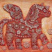 Картина с лошадкой Пегасик кружевной