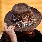 """Аксессуары ручной работы. Ярмарка Мастеров - ручная работа Шляпа """"Весенний вальс"""". Handmade."""