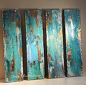 Картины и панно handmade. Livemaster - original item The set of abstractions. Handmade.