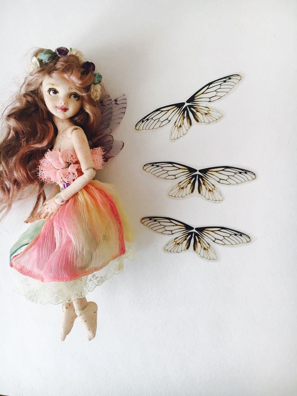 Как сделать крылья феи своими руками для куклы