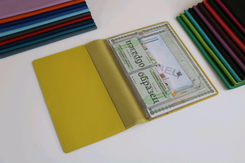 Органайзер для документов формат А4 желтый, Папки, Москва,  Фото №1