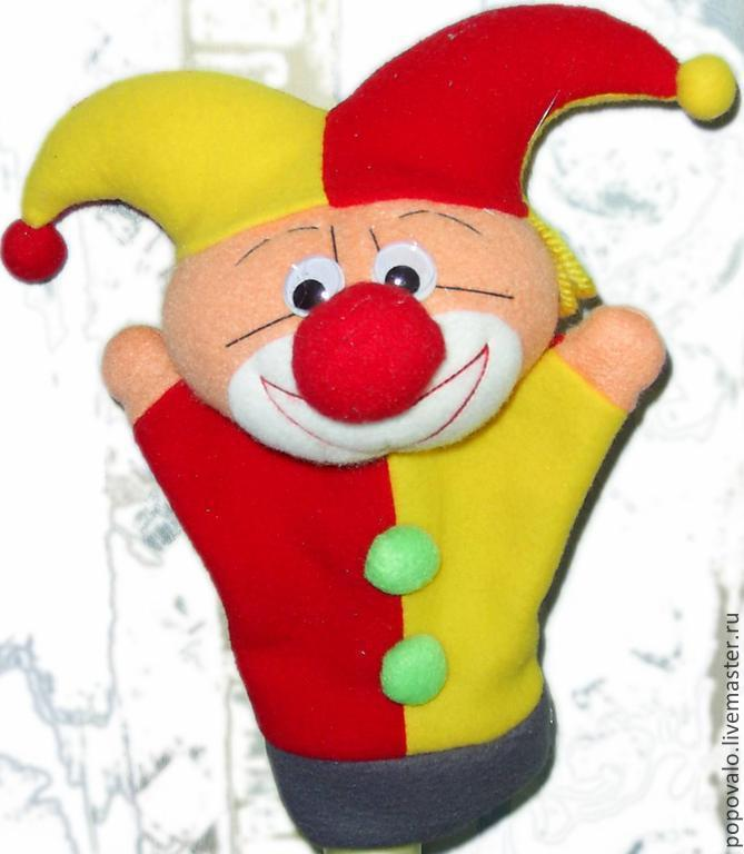 Скоморох ,петрушка ,игрушка для кукольного театра. Юнусова Людмила 47d4d1c1538