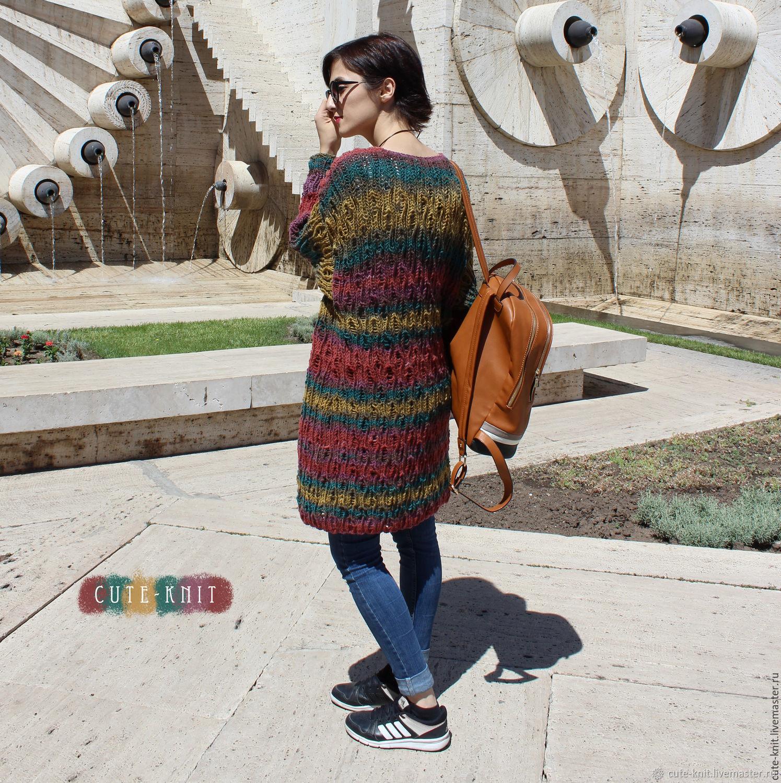 Long knitted cardigan, Cardigans, Yerevan,  Фото №1