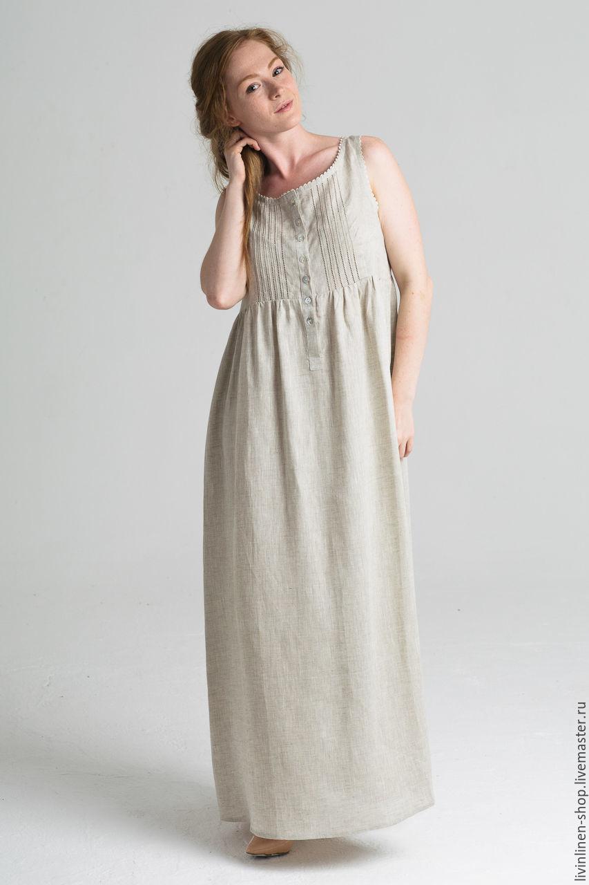 Сшить платье и сарафан из льна 961
