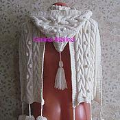 Аксессуары handmade. Livemaster - original item Kit scarf - hood -hood and mittens .. Handmade.