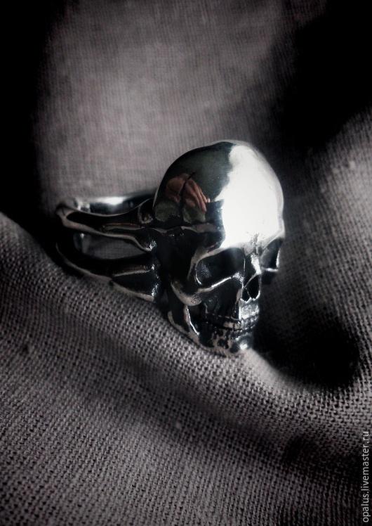 """Кольца ручной работы. Ярмарка Мастеров - ручная работа. Купить Кольцо """"Черепок"""". Handmade. Серебряное кольцо, Кольцо унисекс"""