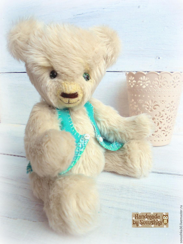 Teddy bear OOAK Shabby chic Gift for her, Teddy Bears, Lviv,  Фото №1