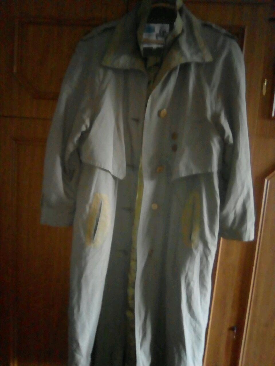 Винтаж: Пальто винтажное женское Сафари защитного цвета( цвет хаки), Одежда винтажная, Софрино,  Фото №1