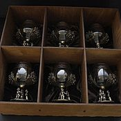 Сувениры и подарки handmade. Livemaster - original item Cognac gift set. Handmade.