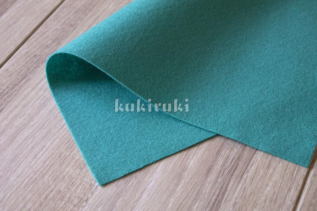 Сине-зеленый мягкий корейский фетр, Войлок, Москва, Фото №1