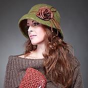 """Аксессуары ручной работы. Ярмарка Мастеров - ручная работа """" Тишина"""" шляпа. Handmade."""